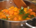 Супа от тиква и моркови 5