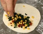Калцоне с царевица и нахут 6