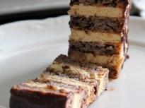 Орехово-карамелена торта