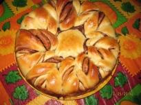 Хляб с течен шоколад