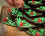 """Бисквити """"Коледна елха"""" 8"""