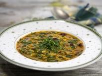 Супа от боб, леща и фиде