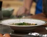 Супа от боб, леща и фиде 6