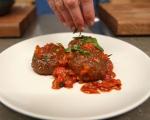 Кюфтета с маслини в доматен сос 9