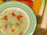 Картофена супа с праз