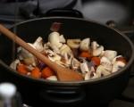 Постна зеленчукова яхния с кюфтета 5