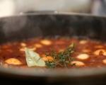 Постна зеленчукова яхния с кюфтета 6