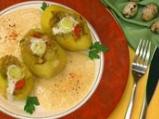 Пълнени картофи със зеленчуци в сос о...