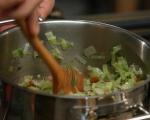 Лозови сарми с леща и ориз 3