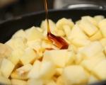 Сладкиш с плодове и златен сироп 2