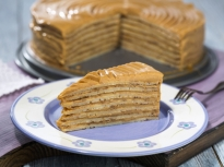 Торта от блини