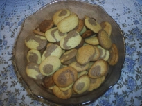 Бисквити със замразено тесто