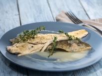 Риба със сос от бяло вино