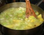 Крем супа с картофи и праз 3