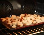 Хлебен пудинг с гъби