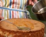 Полска торта с лешници и бадеми 8