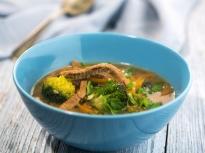 Телешка супа в азиатски стил