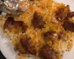 Тепси кебап с праз и ориз 7