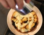 Карамелизирани ябълки с орехи и калвадос 4