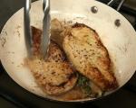 Пилешко с печени гъби 2