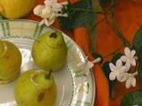 Пълнени круши с лимонов крем