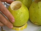 Пълнени круши с лимонов крем 3