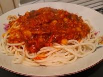 "Спагети със сос ""Болонезе"""