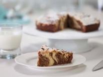 Мраморен шоколадов кекс