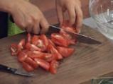 Салата с домати, диня и сирене
