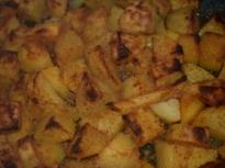 Уникални печени картофи с галета