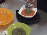 Свежа доматена супа с рибарска апетитка 3