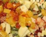 Плодова салата със сладки 10