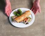 Багета със зеленчуци и риба тон 7