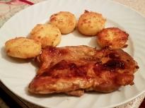 Бързи пилешки пържоли