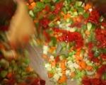"Зеленчукова супа с паста ""Орзо"" 2"