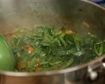 "Зеленчукова супа с паста ""Орзо"" 5"
