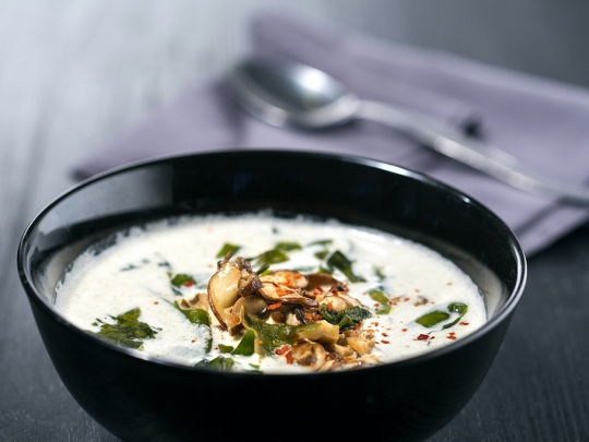 Постна гъбена супа