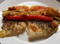 Печени филета от риба пангасиус със с...