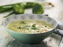 Супа от броколи и червена леща