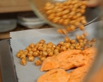 Печена салата със сладки картофи 3