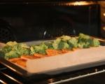 Печена салата със сладки картофи 5