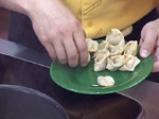 Супа от грах и пелмени с рулца от раци 5