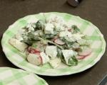 Пролетна салата с яйца 6