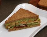 Сандвичи със салата от намачкан нахут 8