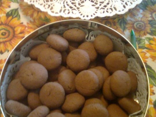 Бисквитки с какао