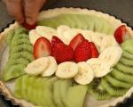 Вегански плодов тарт 8