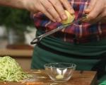 Зеленчукови палачинки с нахут и веганска майонеза 4