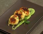 Картофени кюфтета със зелен сос 5