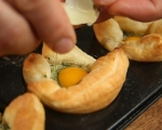 Пъдпъдъчи яйца в кошнички от тесто 7