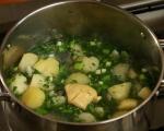 Картофена супа с билки 3